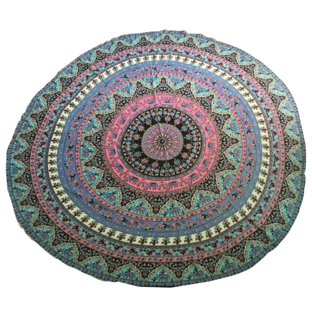 tablecloth Round Beach Pool Home Shower Towel Blanket Table Cloth Yoga Mat IT6602(China (Mainland))