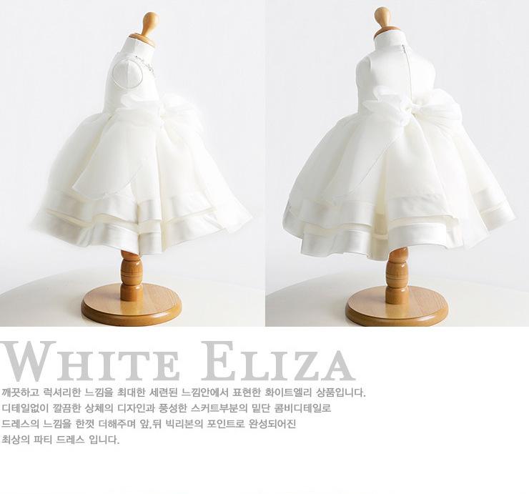 3-24M/high quality summer baby girl christening gowns 1 year birthday dress Big bow fashion tutu wedding baptism dresses BC1412