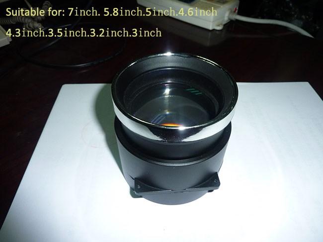 LED projector DIY accessories, f=210 focal length projector diy lens<br><br>Aliexpress