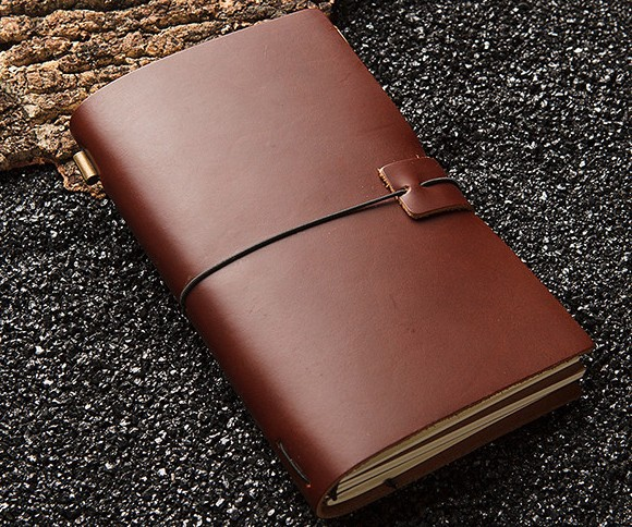 Travel Notebook Leather Genuine Leather Notepad Cowhide Midori SIZE: 10* 16CM<br><br>Aliexpress