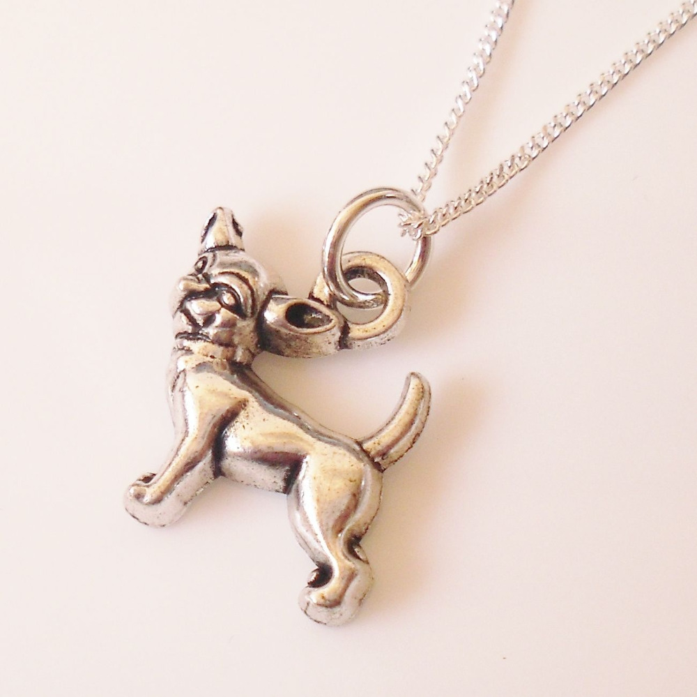 Fashion Jewelry Vintage Silver Summer Style Chihuahua Dog