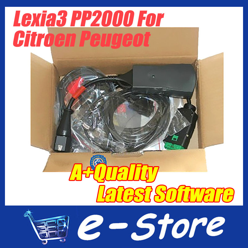 2014 Lowest Price Citroen Peugeot lexia3 Diagnostic Tool pp2000 Latest Version lexia 3,lexia-3 diagbox DHL Free Shipping(China (Mainland))