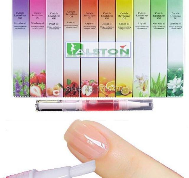 Новый 5 Шт./компл. Фруктовый Цветочный Аромат Аромат Кутикулы Возродить Нефть Ногтей Лечение Инструмент