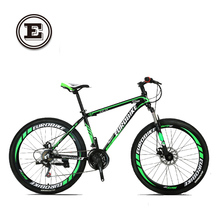 EUROBIKE Speed road mountain bike 21speed 26 inch double disc bicicleta high quality tire complete bike suspension bicycle(China (Mainland))