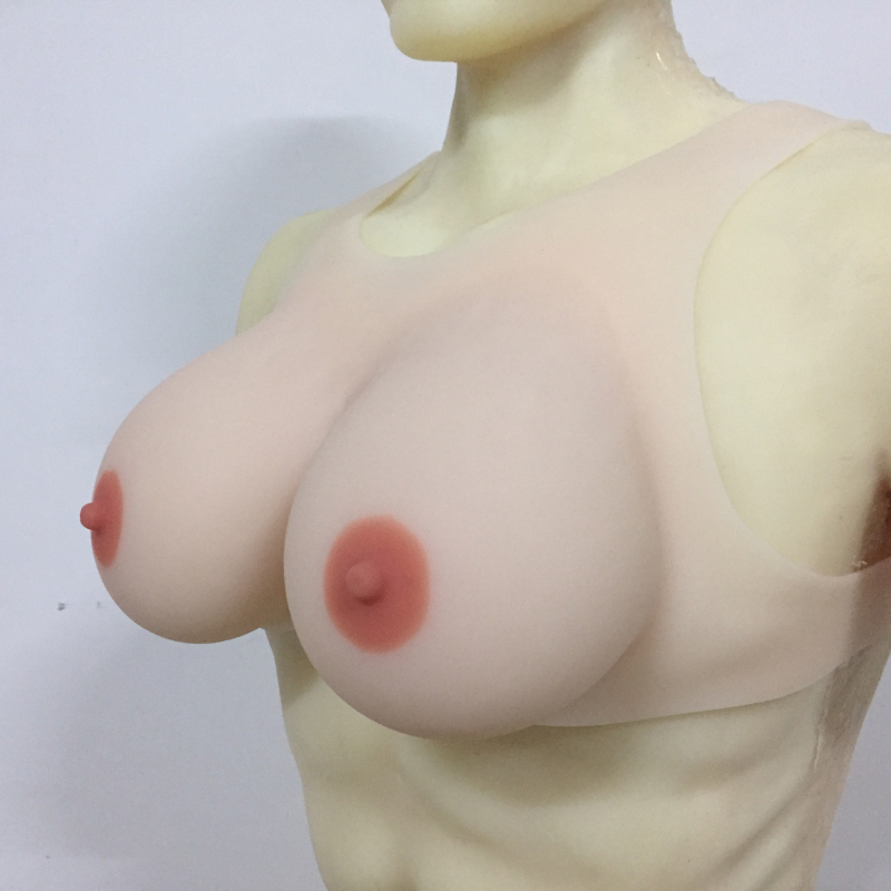 New design Crossdresser Silicone Breast Forms EE Cup boobs transvestite breasts fake breast forms