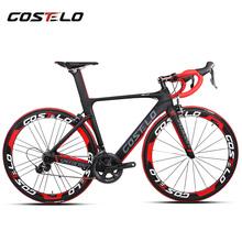 costelo speedcraft complete bike carbon road bike bici completa bike frame groupset wheel bicicleta bicycle group DI2(China (Mainland))