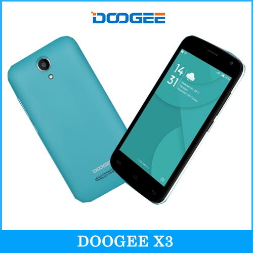 Original DOOGEE NOVA Y100X 5.0'' Android 5.0 Smartphone MT6582 Quad Core 1.0GHz ROM 8GB+RAM 1GB OTG OTA GPS A-GPS GSM & WCDMA