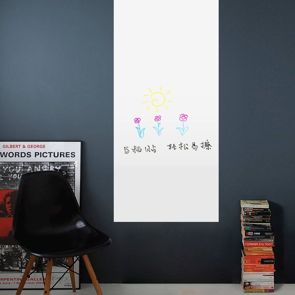 Convenient Education Erase Board Calendar Peel Wall Stickers Decal Kids Room Schedule Vinyl Removable Home Decor 60x45CM(China (Mainland))
