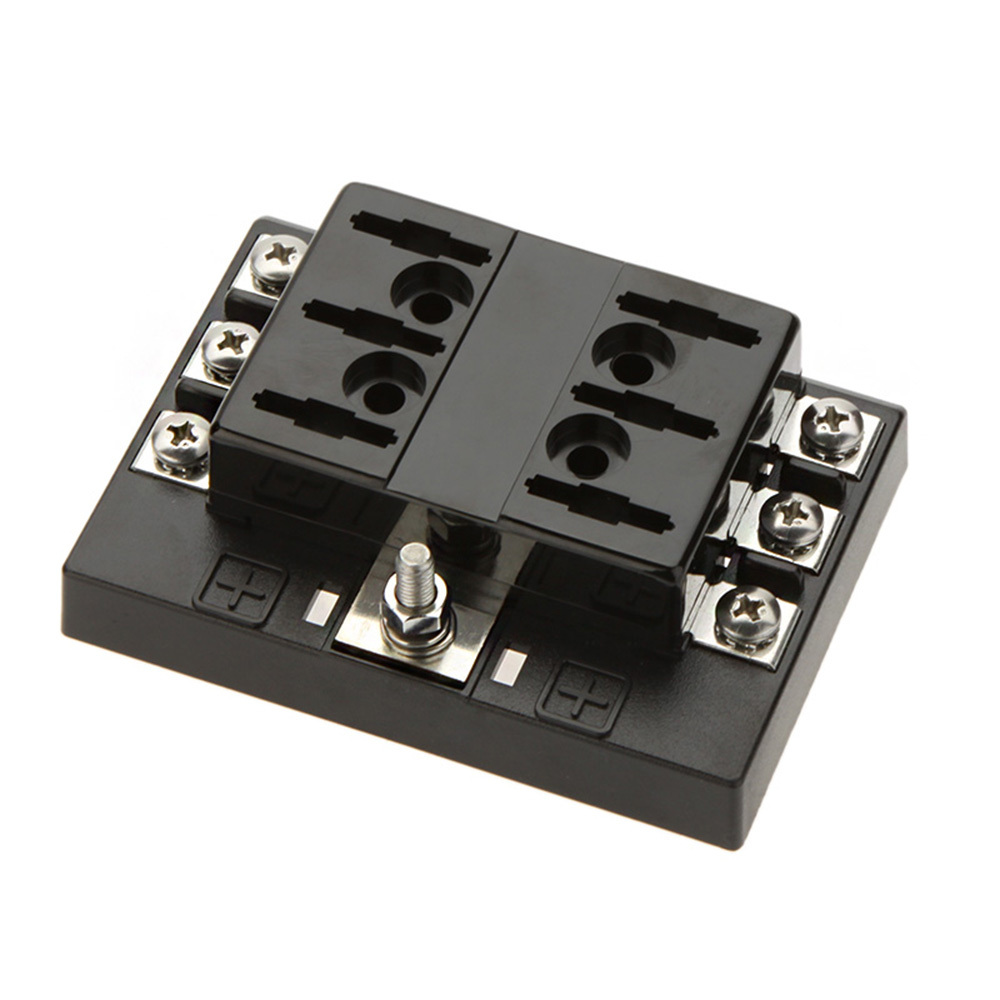 Waterproof Auto Fuse Box : Universal way circuit car fuse box holder v dc