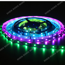 Buy LPD6803 RGB led strip changeable dream color Led Pixel Strip 5m RGB 10IC 30Leds Waterproof IP22 Full Colors LED Digital Strip for $18.24 in AliExpress store