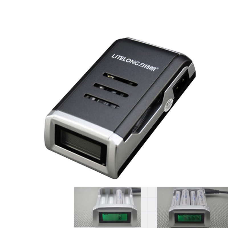 Best Price universal battery charger Smart Rapid LCD AA AAA Ni-MH Ni-Cd Rechargeable Battery Charger(China (Mainland))