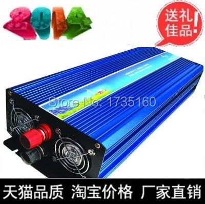 3000w breytt Inverter 3KW Modified Sine Wave 3000W Power Inverter Peak Power 6000w Dc12v To Ac 220v Wind Solar Power Generator(China (Mainland))