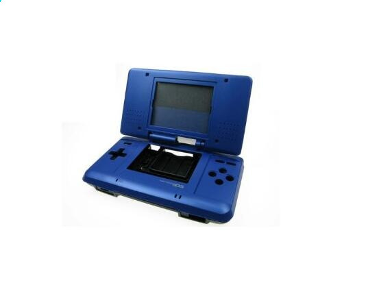 Hot Sale Blue Color DIY Housing Case for Nintendo DS Game Console Shell Replacement Cover Free Shipping Kids Gifts(China (Mainland))