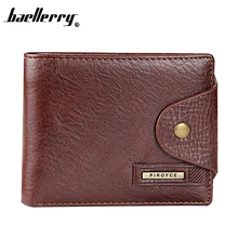 Buy New 2016 100% Guaranteed Genuine Leather Brand Men Wallets Design Short Small Wallets Male Mens Purses Card Holder Carteras for $6.98 in AliExpress store