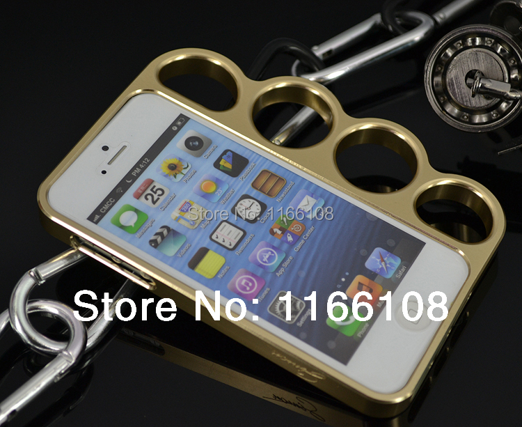 Case For iPhone 5 5s case cover Aluminum Bumper with rings boxing glove smartphone cases covers protective shell skin(China (Mainland))