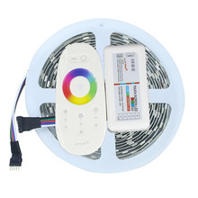Buy 5M LED Strip Light 5050 RGBW 300Leds Non-Waterproof Flexible LED Tape Ribbon Light + 2.4G Touch Screen RGBW Remote Controller for $14.98 in AliExpress store