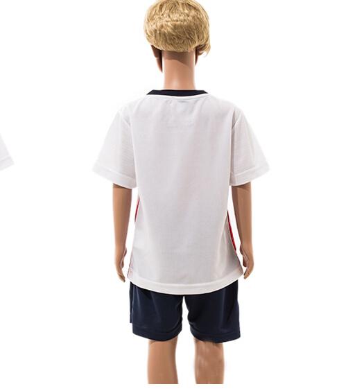 Brand New 2015 - 2016 Season Kids Children's Boys Girl's Soccer Jerseys Football Jerseys Design Suits Clothing Set(China (Mainland))