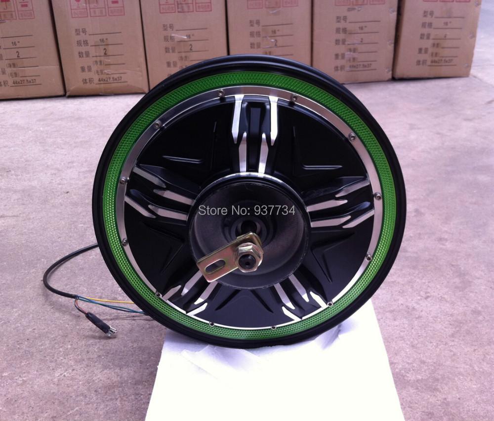 Cheap electric motorcycle motor / 16 inch 600w brushless hub G-M008 - Suzhou SND Zhenlong Motor Co. Ltd store