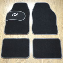 Universal Car foot mat for auto anti slip mat , free shipping, three colors, left-steering ONLY! 3 Color Car Floor Mat(China (Mainland))