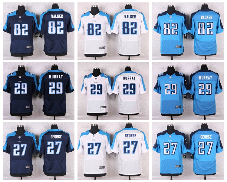 For Mens,DeMarco Murray,Eddie George,Kendall Wright,Marcus Mariota, Elite Rush Limited Free Shipping stitched Titan(China (Mainland))