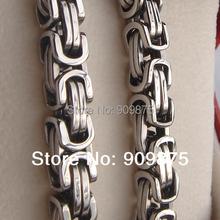 cool link heavy men/boy 316L stainless steel chain necklaces & pendants men jewelry