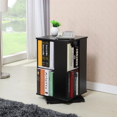 E1 Grade Free Standing Swivel Book Case Shelf Shelves Storage(China (Mainland))