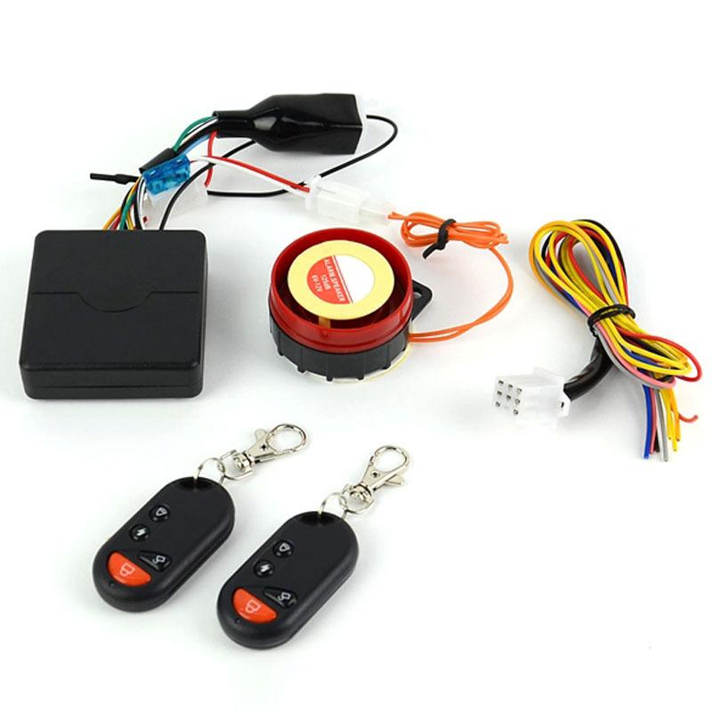 2014 New Alarm Motorcycle Bike Anti-theft Security Alarm System Remote Control Engine Start 12V Smart Alarm Powerful 125db SJM(China (Mainland))