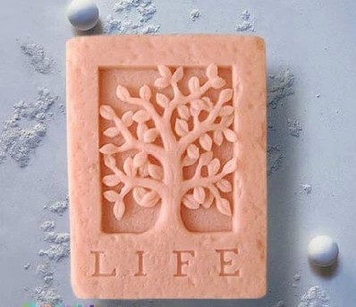 Free shipping tree Craft Art Silicone Soap mold Craft Molds DIY Handmade soap molds(China (Mainland))
