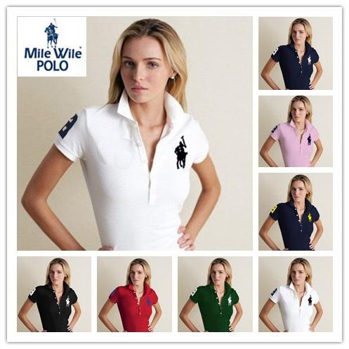 summer style t shirt women 2015 classic short sleeve Fashion ralph t Shirt Brand harajuku crop top women tops camiseta feminina(China (Mainland))