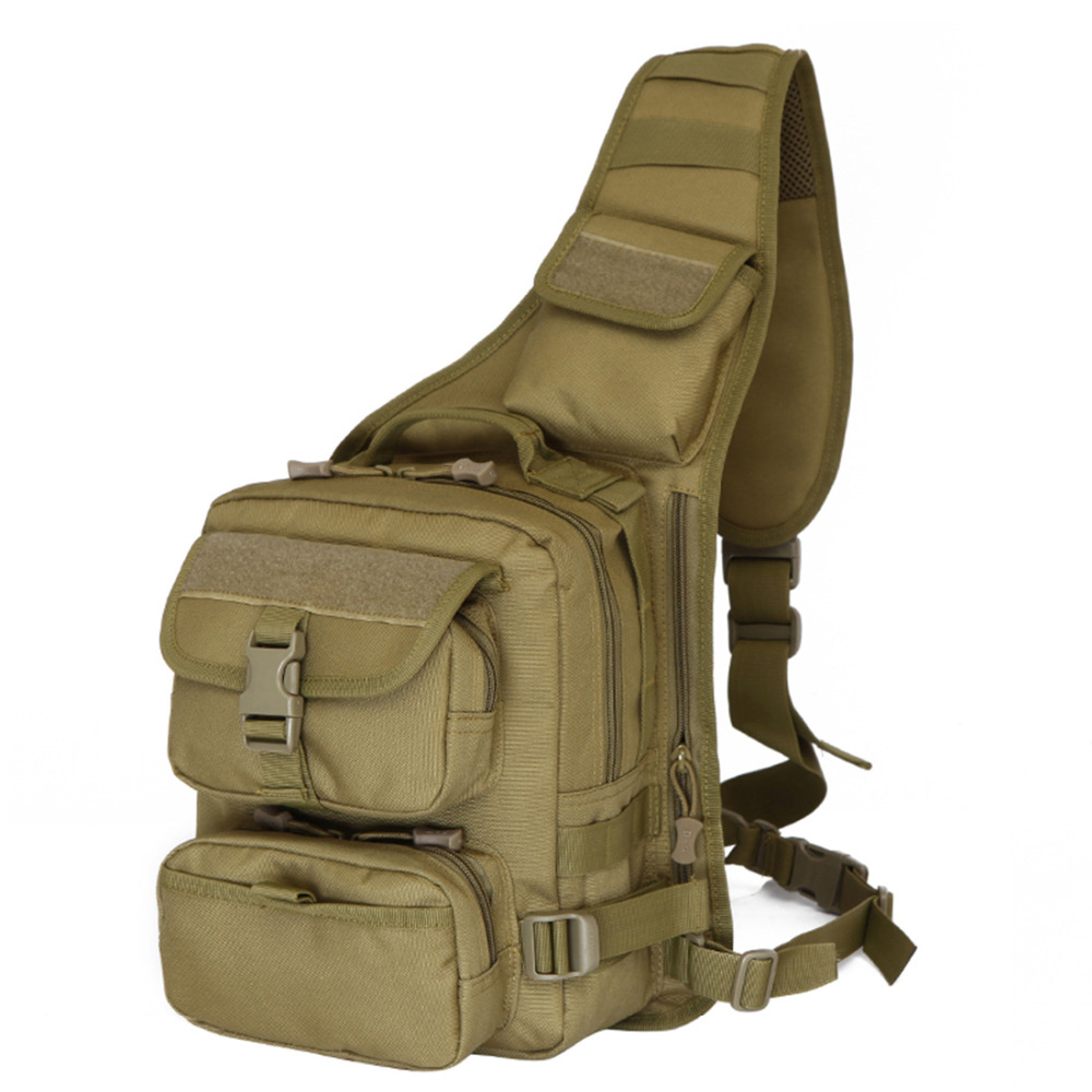 Top Quality Men 600D Nylon Military Tactical Shoulder Messenger Bag High Capacity Travel Hiking Outdoor Sling Chest Back Pack<br><br>Aliexpress