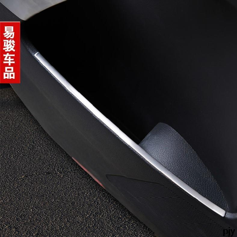 Free shipping stainless steel the door store content details trim 4pcs For VW Volkswagen Tiguan