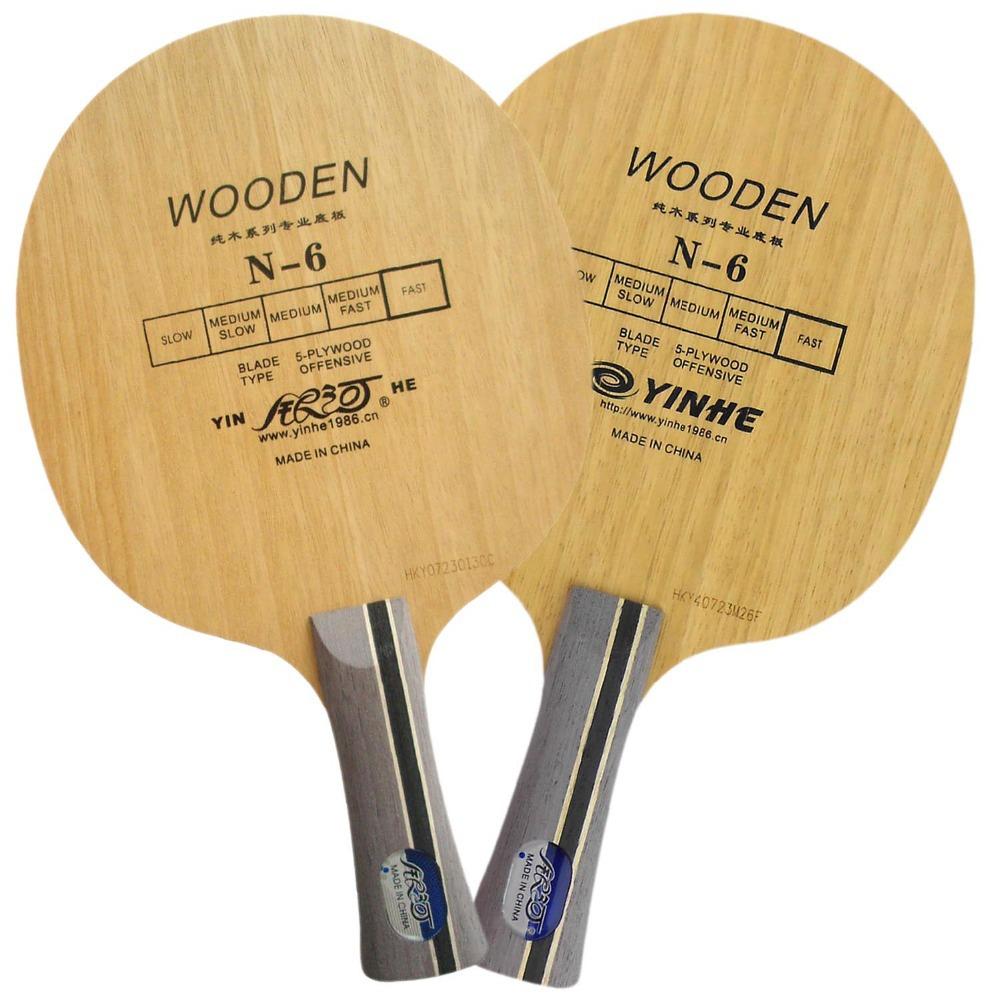 Galaxy / Milky Way / Yinhe N-6 Wooden (N 6, N6) Attack+Loop OFF Table Tennis Blade for PingPong Racket(China (Mainland))