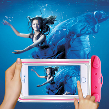 Clear Waterproof Pouch Dry Case Camera Mobile phone Luminous Bags Asus ZenFone 2 Laser ZE550KL ZE551KL - SmallStoneCarving Store store