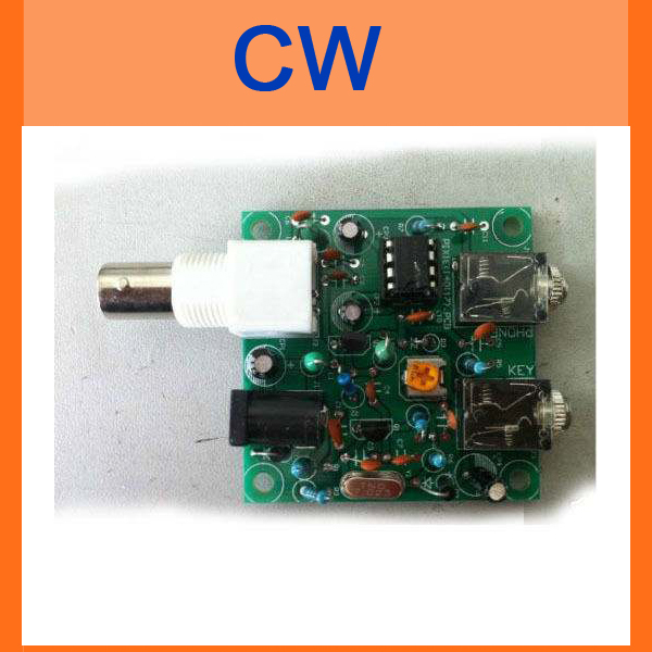 HAM RADIO 40M CW Shortwave Transmitter Receiver 7 023 7 026MHz QRP Pixie Kit DIY