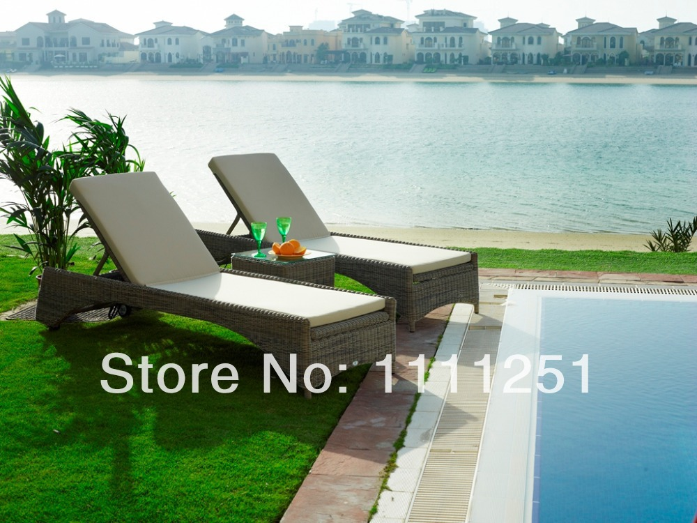 2014 Swimming Pool Outdoor Furniture Sulana Sunbed Lounge Chairs In Patio Swings From Furniture