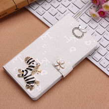 Fashion Horse Wallet Mobile Phone Bags Cases THL W8 W8S Anti-knock Flip Lovely Cover Case & Card Slot - AXD Shenzhen AnXuanDa Co.,Ltd store
