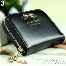Hot Fashion Women s Mini Faux Leather Lady Purse Wallet Card Holders Handbag coin bag 1GDT