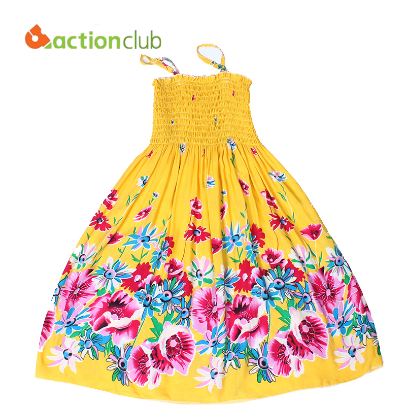 summer style flower girls dress Bohemian Dress for girls princess dress cotton dresses for girls vestidos infantis KD382(China (Mainland))