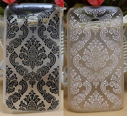 Hot Painting Vintage Paisley Flower Hard PC phone case cover For Samsung Galaxy Ace 3 III S7270 S7272 Skin Sheer Luxury Case Bag(China (Mainland))