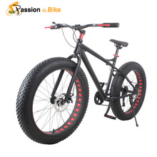 passion ebike 21 speed Aluminium mountain bike white frame 26*4.0 fat tire bicycle bicicleta bikes(China (Mainland))