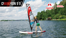 Aqua Marina Inflatable Wind Surfing Stand up paddle board Sup All Around Crusing Wave Board Surfboard Paddle board Surf board(China (Mainland))