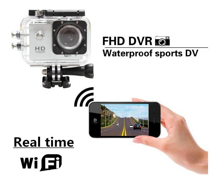 Профессиональный камкордер , WIFI, 30 1080p DVR HD DV,  go pro WIFI SJ4000