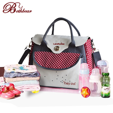 Multifunctional bolsa maternidade baby diaper bags baby nappy bag mummy maternity bag lady handbag messenger bag diaper shoulder(China (Mainland))