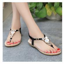 Women Sandals 2016 Shoes Women Flat Sandals Ankle-Strap Sandals Sandalias Mujer Plus Size 35-41 Summer Sandals