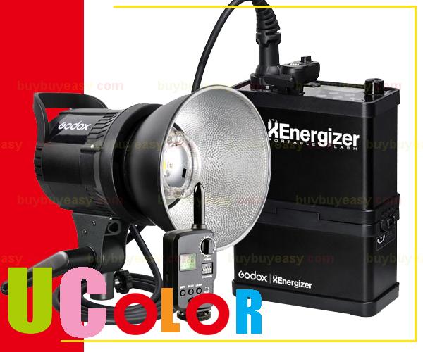 Godox XEnergizer RS-400P 400W 400WS Portable Strobe Flash Light Studio Outdoor Lighting Kit FT-16 Trigger & Li-ion Battery(Hong Kong)
