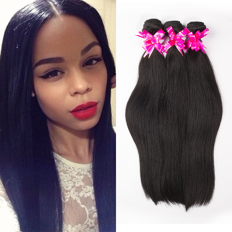 Malaysian Hair Remy Queen Hair Products 2pcs/lot 100% unprocessed hair weaves free shipping Malaysian virgin hair straight