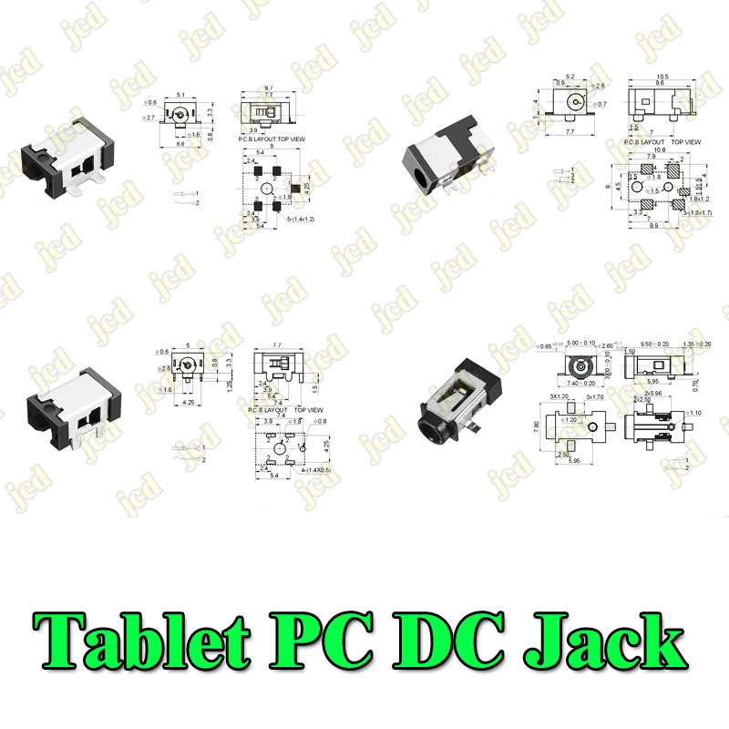 Best price DC jack Tablet PC 0.7mm Charging Charge Socket Power Connector for Flytouch etc.(China (Mainland))