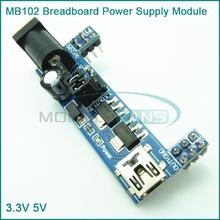 MB102 Breadboard Power Supply Module 3.3V 5V For Solderless