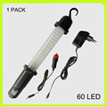 Free shipping 1 PACK 3 in 1 rechargeable 28+4+3 LED work light LED emergency light torch car roadside emergency garage