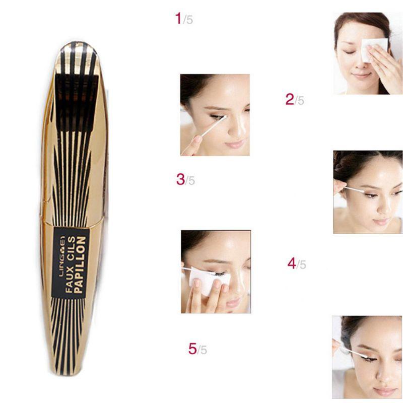 Cosmetic Makeup Black Extension Eyelash Mascara Length Curling Eye Lashe LI02